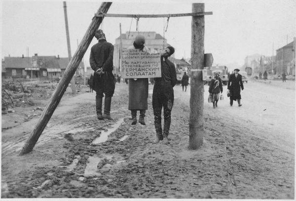 kazn belorusskix partizan nacistami