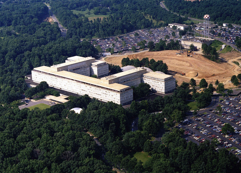 Штаб-квартира ЦРУ в городе Лэнгли, штат Вирджиния