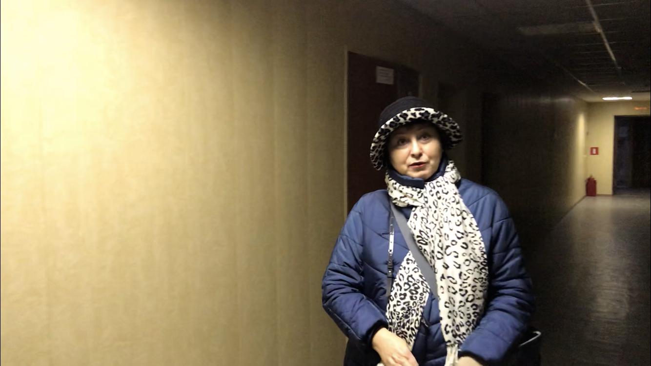Анна Пастухова (Мемориал) на встрече с заместителем посла Великобритании в России Линдси Сколл