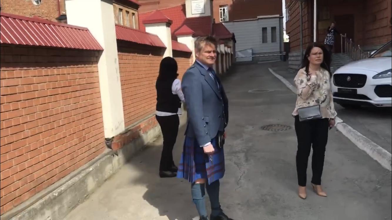 Британский консул провёл приём по случаю свадьбы принца
