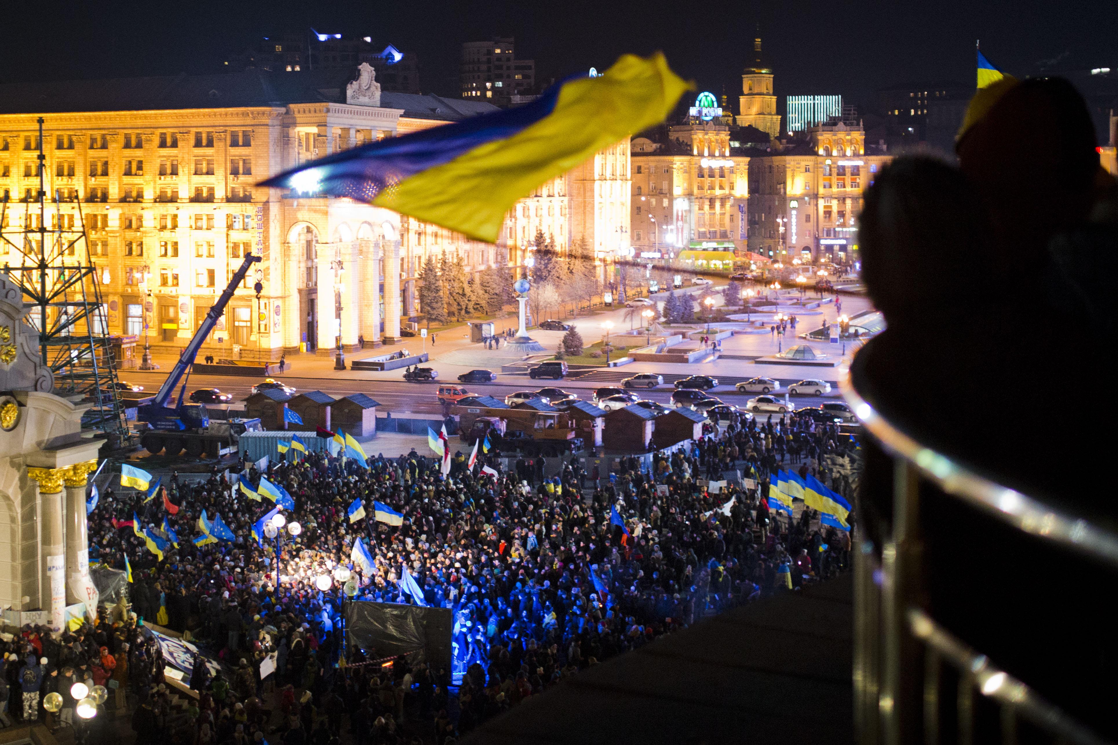 21 ноября 2013 года начался Евромайдан на Украине
