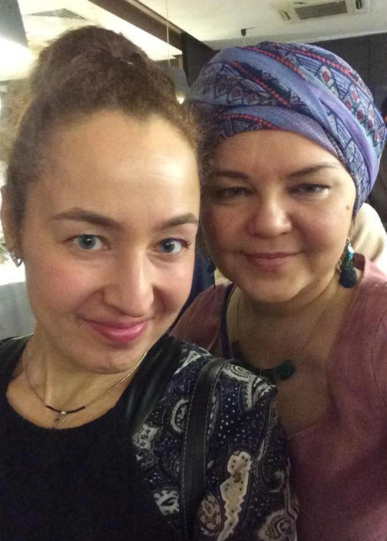 Нурзида Бенсгиер и Юлия Грехнева, НП «Межнациональный информационный центр»