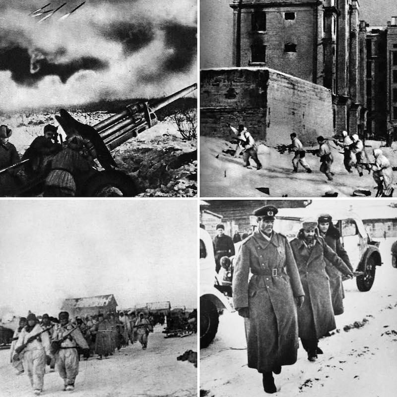 31 yanvarya 1943 goda v stalingrade kapitulirovala yuzhnaya gruppirovka nemecko-fashistskix vojsk img 2