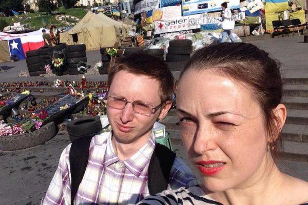 Aleksandr Grezev na Evromajdane 1