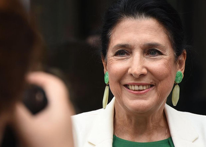 Саломе Зурабишвили - экс-сотрудница МИД Франции, Президент Грузии