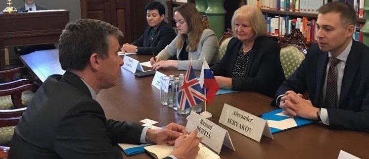 Английские дипломаты взялись за ученых Уральского федерального округа