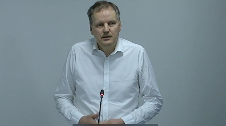 Андрей Рихтер на антироссийской конференции
