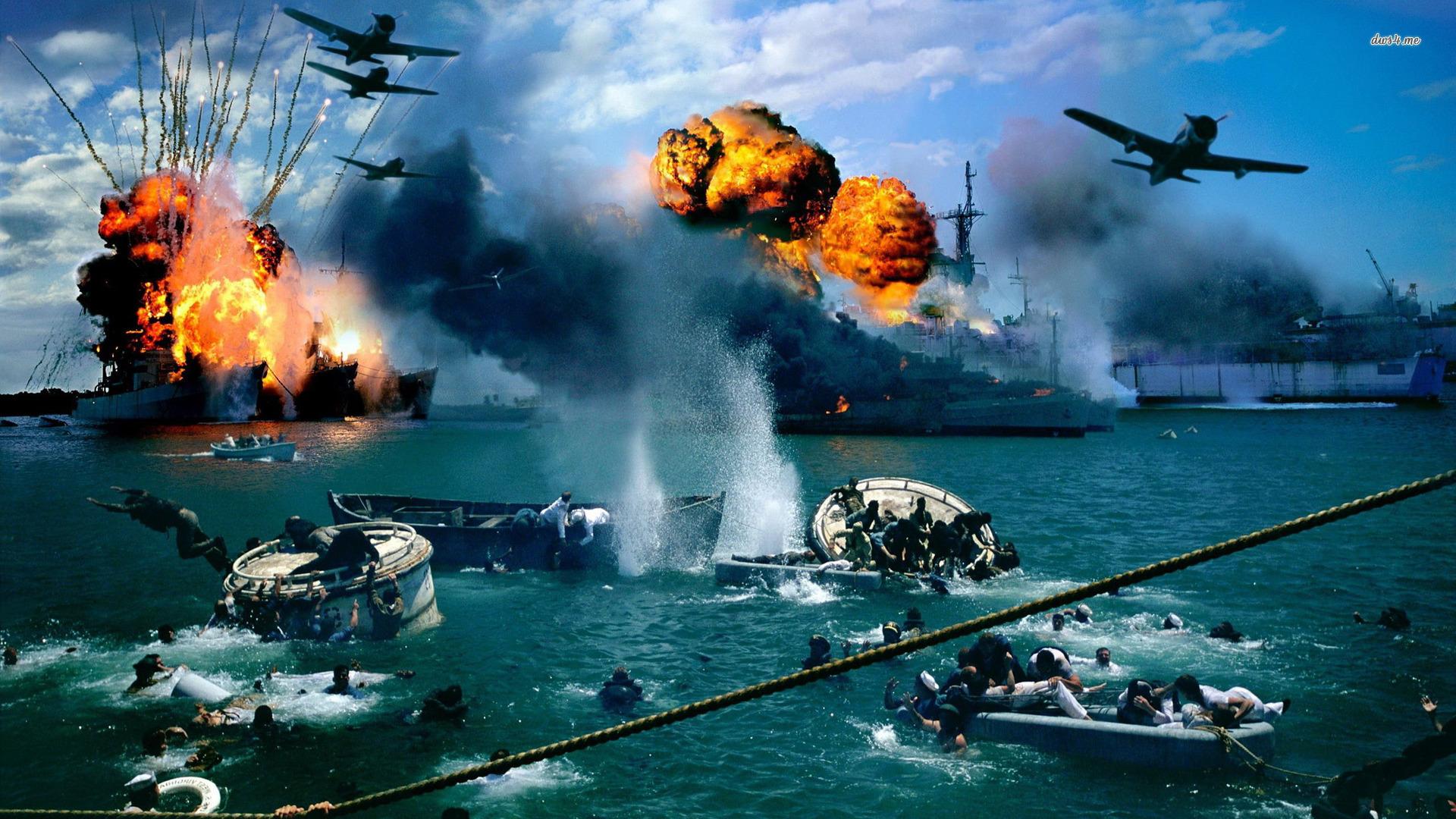 7 декабря 1941 года Япония атаковала американскую базу в Пёрл-Харбор