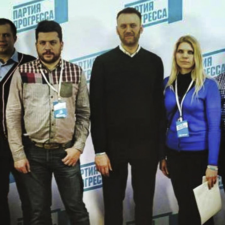 Леонид Волков, Алексей Навальный, Екатерина Петрова