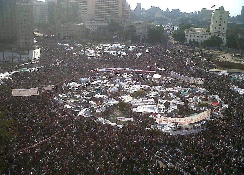8 февраля 2011. Революция «Лотоса». Площадь Тахрир. Каир. Египет. Итог: свержение Мубарака.