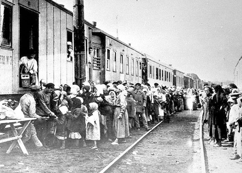 Депортация чеченцев и ингушей в Среднюю Азию