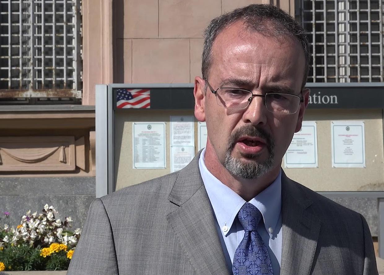 Энтони Годфри, заместитель посла США в России