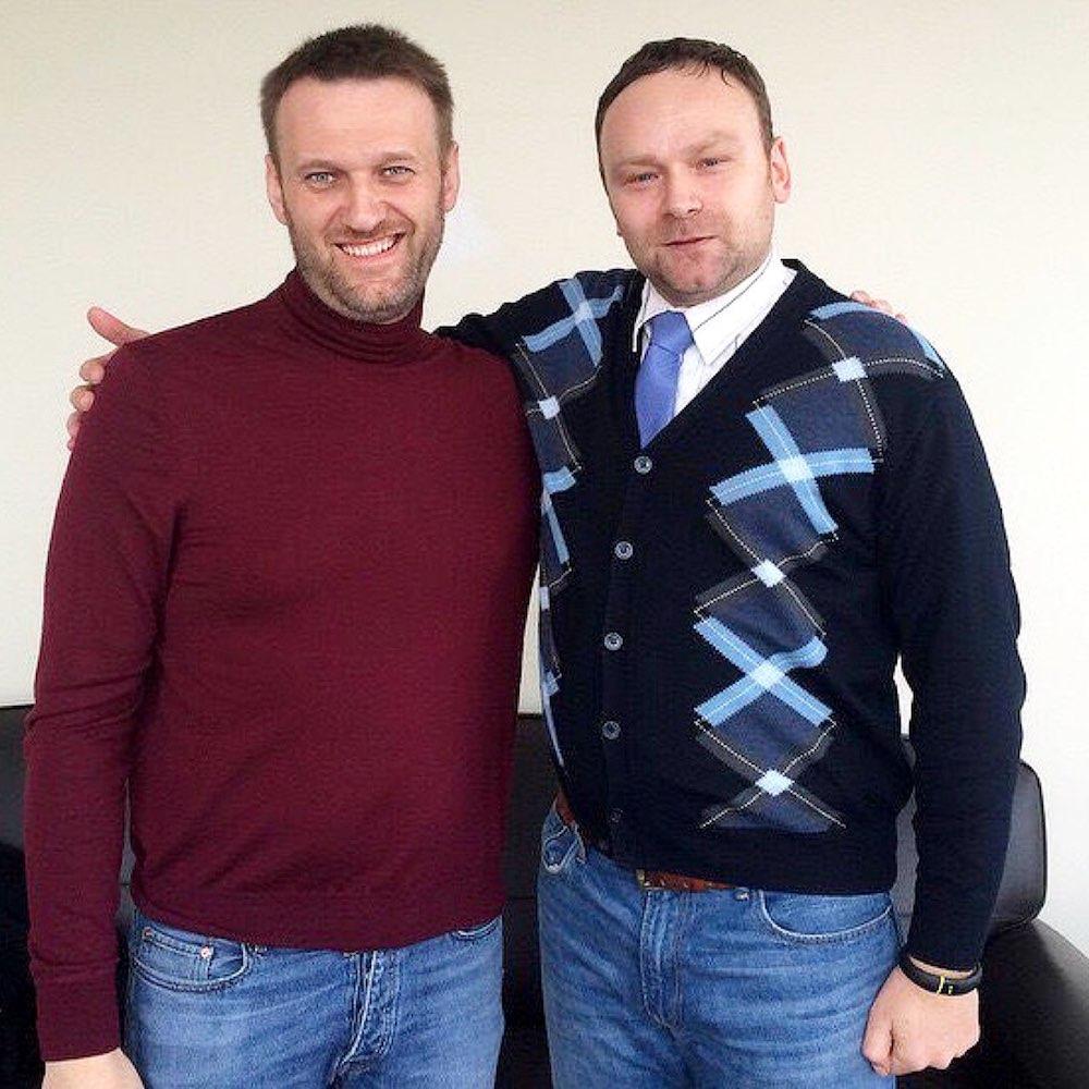 Фёдор Крашенинников и Алексей Навальный