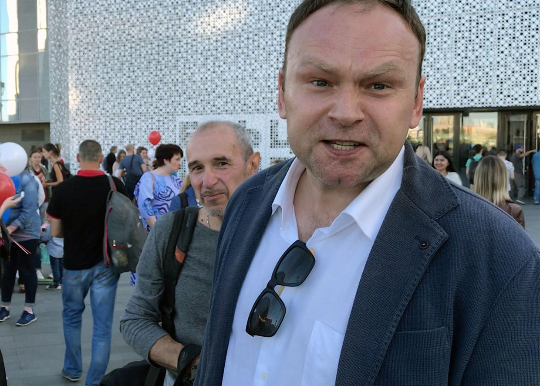 Фёдор Крашенниников на праздновании 25-летия подрывной работы Соединенных Штатов на Урале