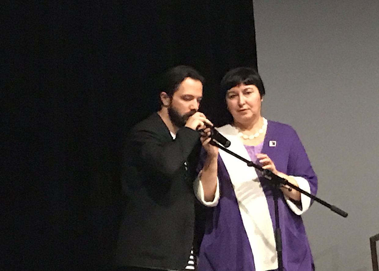 Олег Лутохин и Анна Пастухова