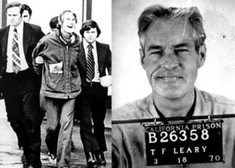 Арест Тимоти Лири, 1972 год
