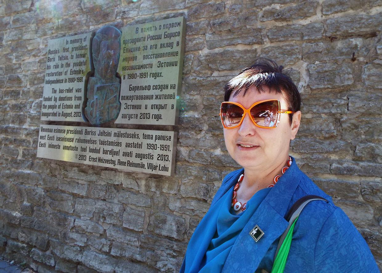 Анна Пастухова в Таллине