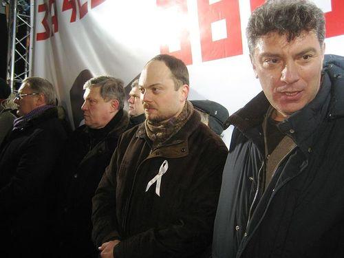 kasyanov yavlinskij kara-murza nemcov bolotnaya belaya lenta
