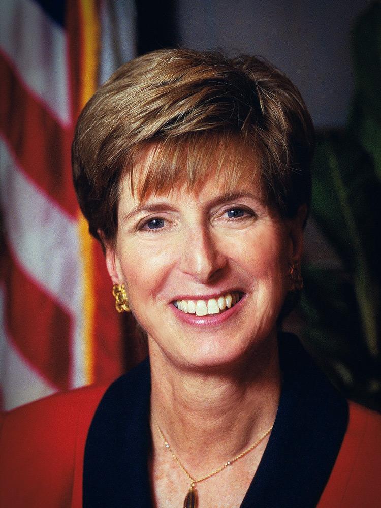 Кристина Тодд Уитман, американский политик и писатель, с 2001 по 2003 год – глава Агентства по охране окружающей среды при администрации президента Джорджа Бушa-младшего.