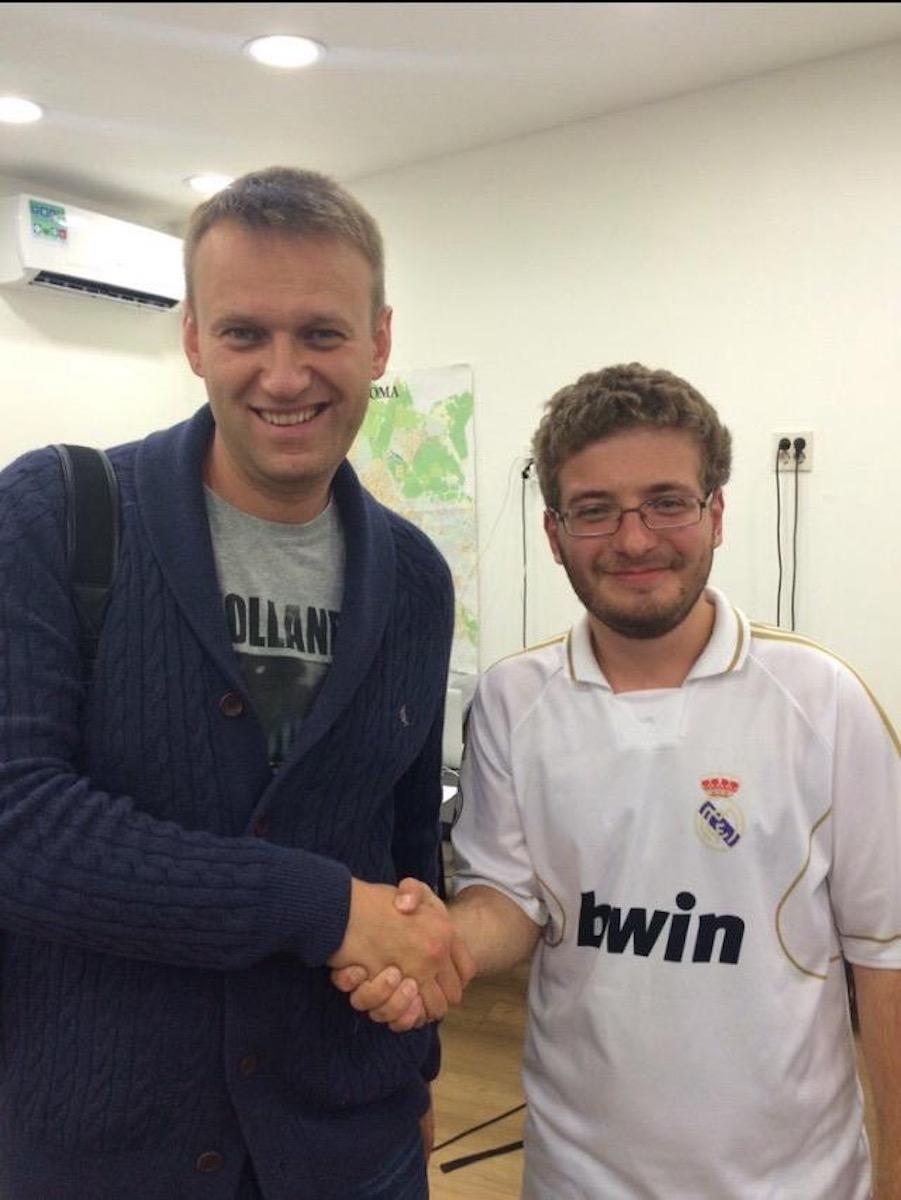 Максим Верников и Алексей Навальный