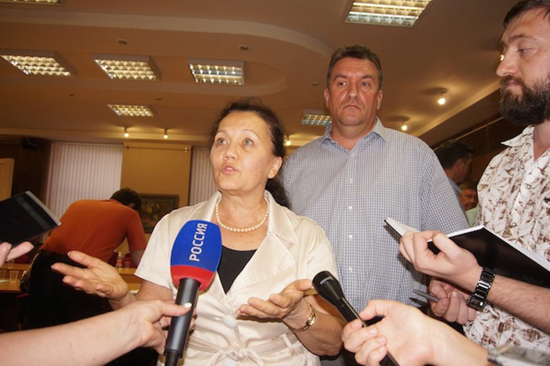 Наталья Евдокимова и Сергей Кривенко.