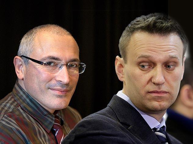 Подонки, воры и предатели Навальный и Ходорковский порадовались смерти сотрудников ФСБ