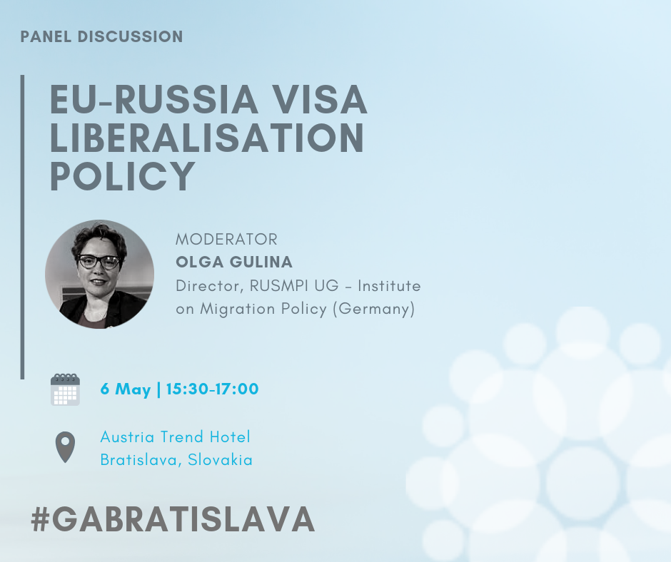 Ольга Гулина на девятом общем собрании Гражданского форума ЕС-Россия #GABratislava