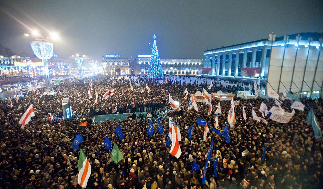 Анализ протеста в России и Белоруссии в 2020 году