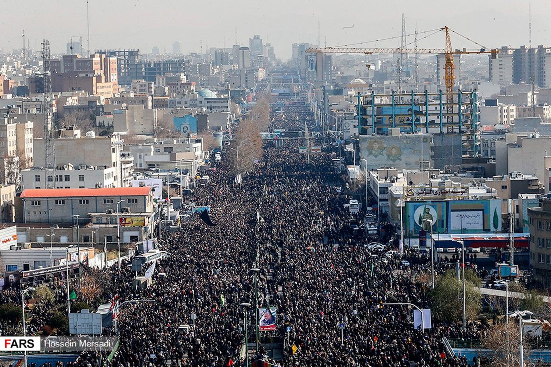 Похороны Касема Сулеймани