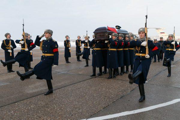 Похороны Романа Филипова