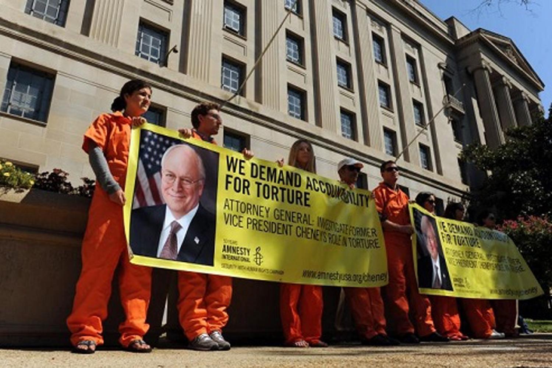 Акция против Чейни в США