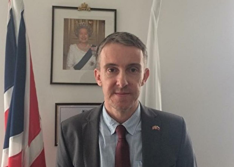 Ричард Дьюэлл, генеральный консул Великобритании в Екатеринбурге