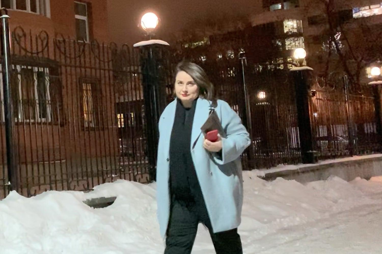 Дина Сорокина, директор Музея Ельцин Центра, на рождественской явке ГК США в Екатеринбурге, 19 декабря 2019 года.