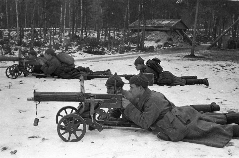 30 ноября 1939 года началась советско-финская война