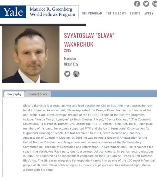 svyatoslav vakarchuk yale world fellows jelskij universitet