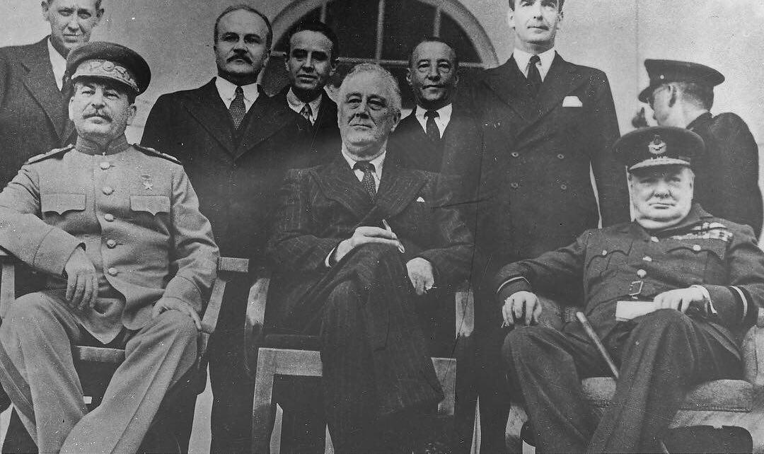28 ноября 1943 года началась Тегеранская конференция