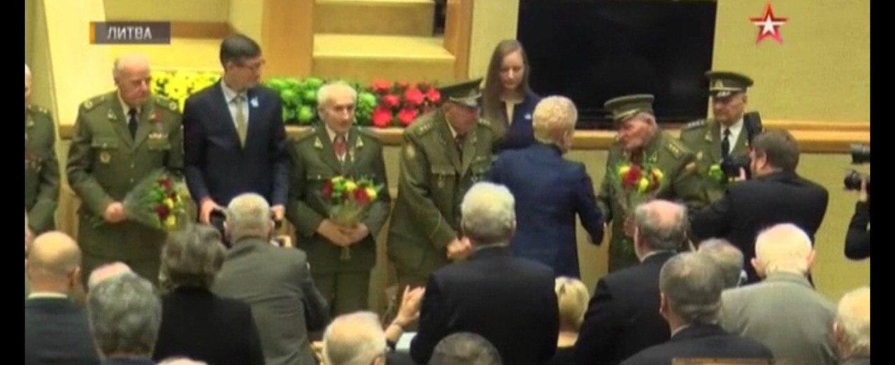 В Литве представили к госнаграде воевавших за фашистов «лесных братьев»*