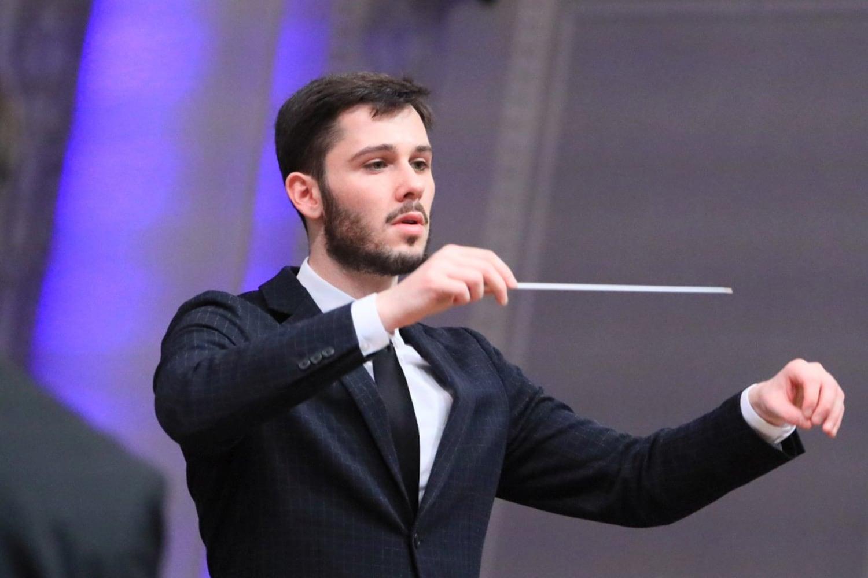 Оливер Зеффман и Молодежный оркестр на V Международном музыкальном фестивале