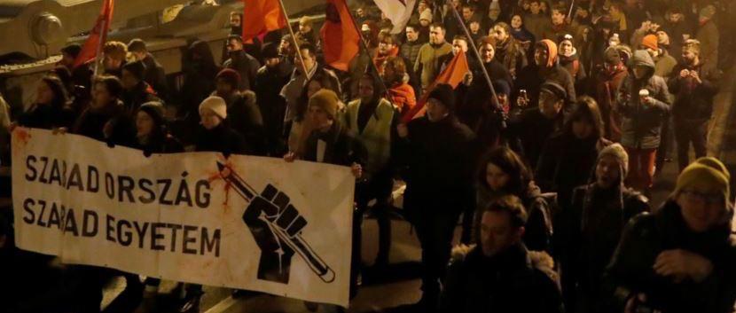 В Венгрии началась цветная революция против «пророссийского президента»